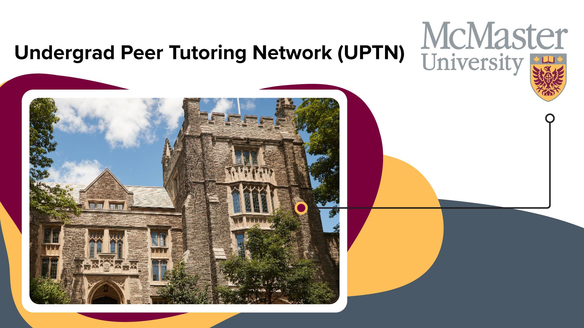 McMaster University | Top-ranking research university adopts a streamlined peer tutoring management system